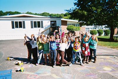 CHALK4PEACE '09 Cushing Elementary, Scituate, MA