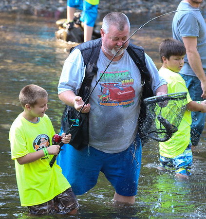 15th Annual Talking Trees Children's Trout Derby, August 6