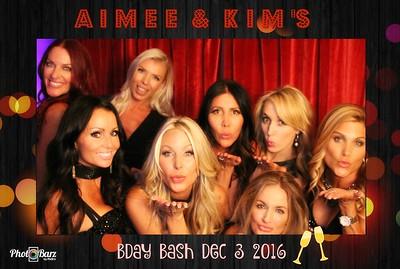 Aimee and Kims Birthday Bash