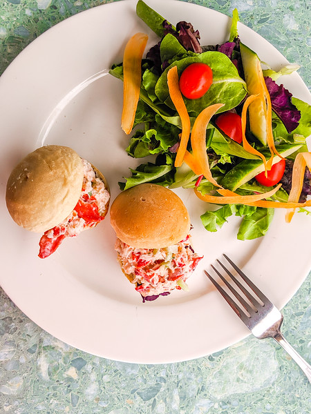 Gaspereau Winery lobster slider and salad-3.jpg