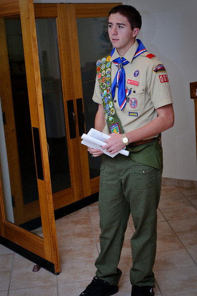 Anthony's Eagle Scout Ceremony - 11.29.2008