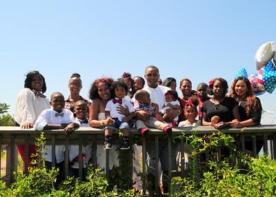 Keianna Howard and family