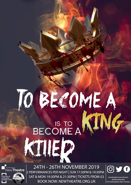 To Become A King Is To Become A Killer poster