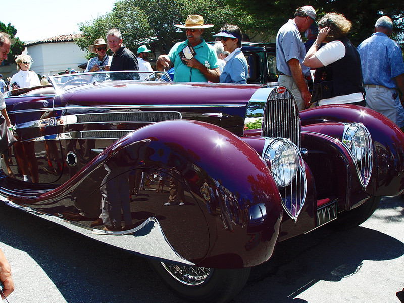 Fagoni-Falaschi bodied Bugatti