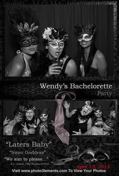 Wendy's Bachelorette Party - Fifty Shades of Grey