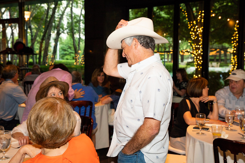 Glenn Franklin 70th birthday party at Marie Gabrielle Restaurant in Dallas Texas on June 3, 2018. (Photo/Sharon Ellman)