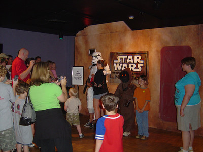 Star Wars Science meets the Imagination Ft Worth Museum