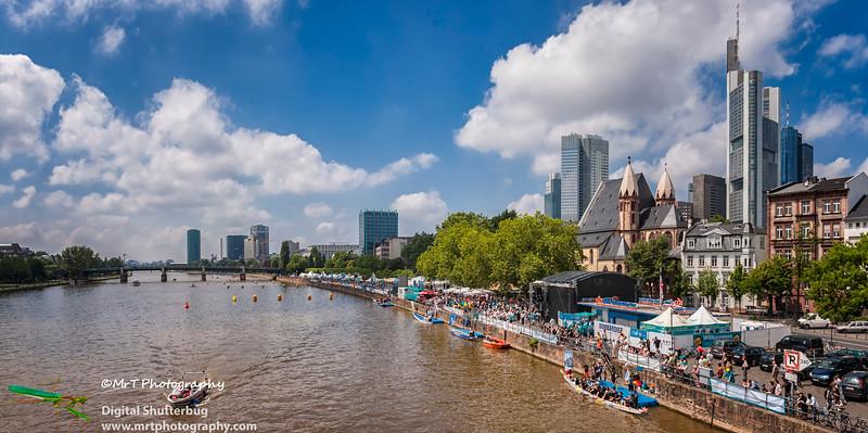 Dragon boat racing Frankfurt