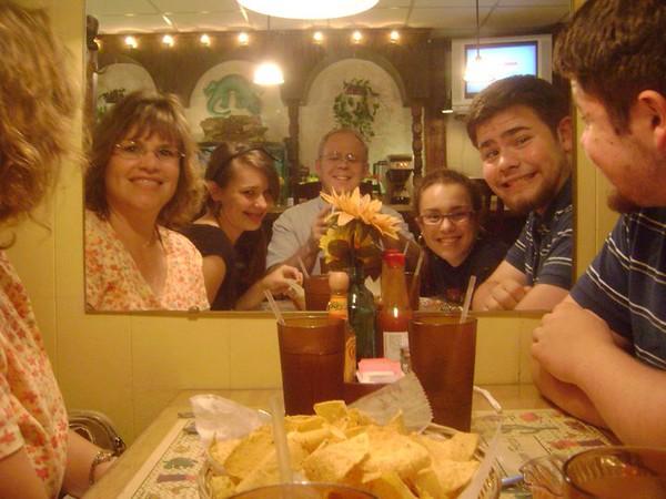 June 4, 2010 - celebrating John Robert's 17th birthday at LeCene in Grosse Pointe, MI