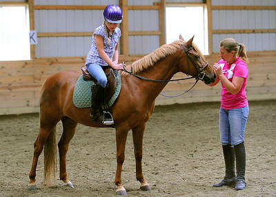 Isabelle Hart - Horse Riding Lesson - 2011