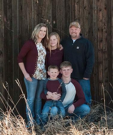 Vanek Family 2018