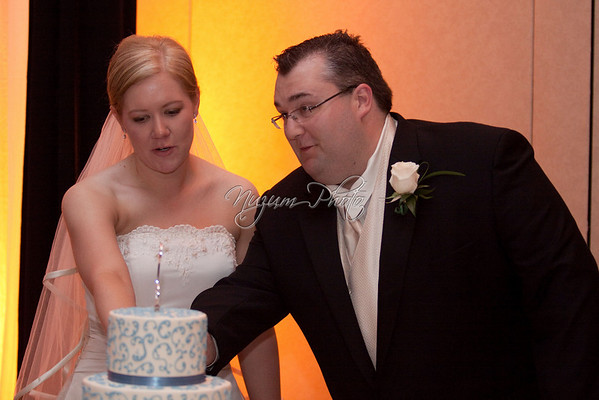 Cake Cutting - Andrea and Eric
