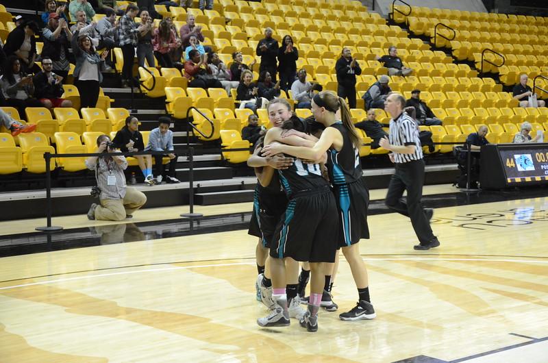 Varsity Girls Basketball Mar 11 vs Western Tech