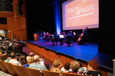 Violins of Hope - Tribute Concert Honoring Holocaust Survivors & Those Who Were Lost