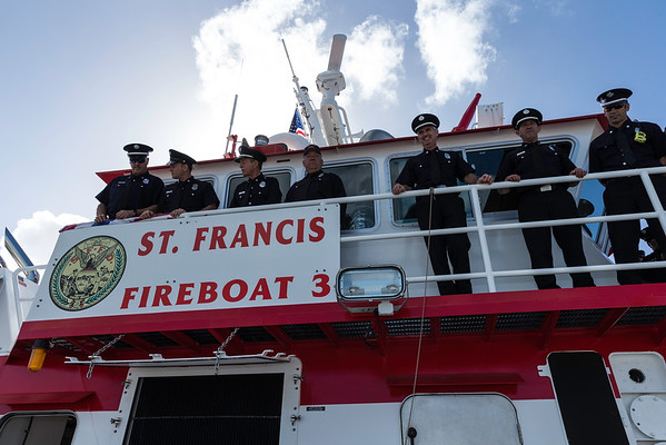 SFFD New Fireboat Naming 2016