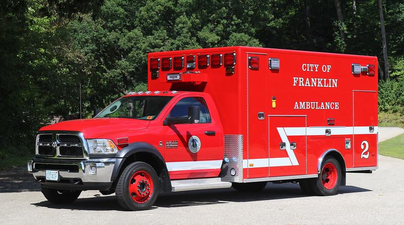 Ambulance 2.  2019 Dodge / PL Custom