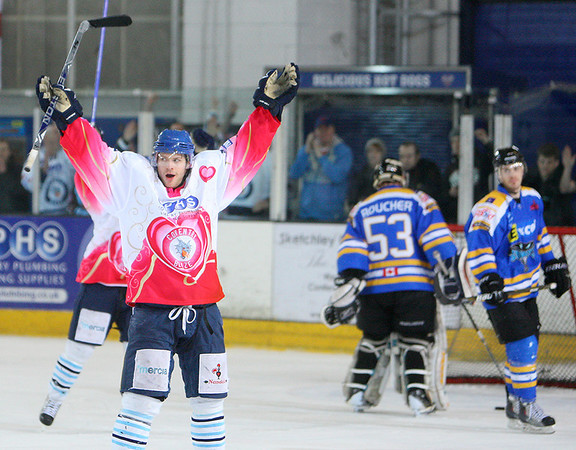 Blaze v Hull Stingrays - 13/02/2011