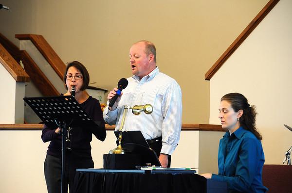 November 21, 2010 Worship Service