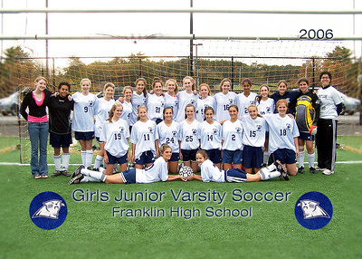 FHS Girls Junior Varsity Soccer 2006