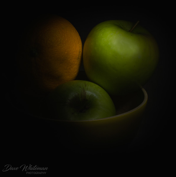 Green and Gold Still Life