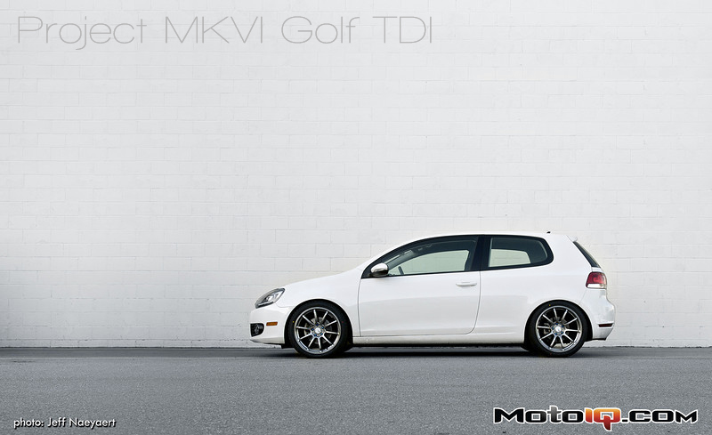 Project MKVI Golf TDI Handling Upgrades Cover