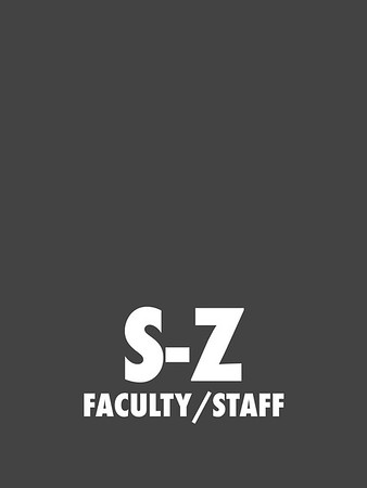 S-Z (Faculty/Staff)