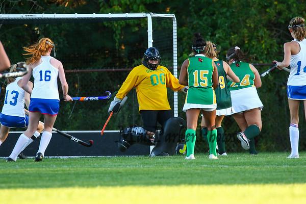 2019-9-25 WHS Girls Field Hockey vs Bishop Guertin
