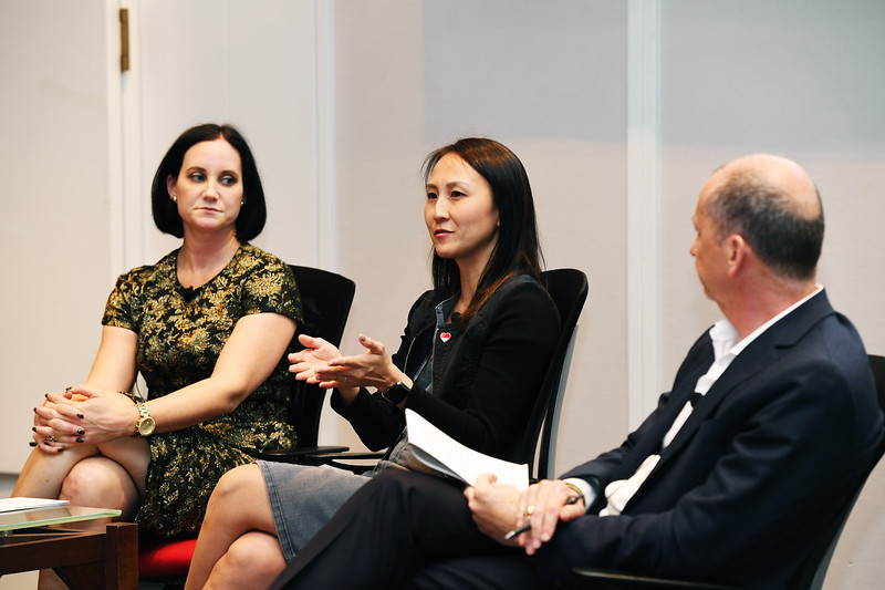 Melissa Riley, Destination DC and Jeannie Lim, Singapore Tourism Board, Association Day