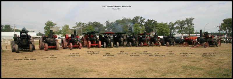 Steam Traction - National Threshers Association 2007