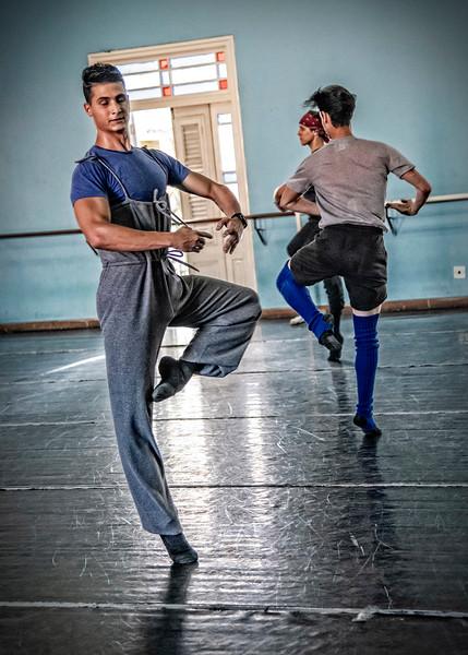 At the Ballet School of Havana