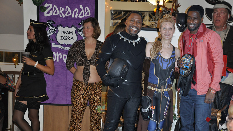 Team Zebra Masquerade XIII....It's A Jungle Out There