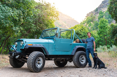 2020 Josh Jeep Ride w/ Dogs