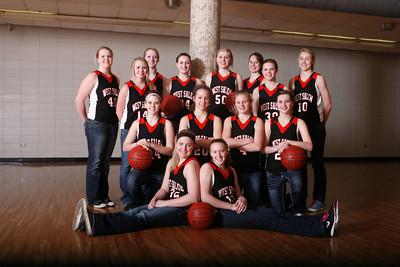 West Salem girl's basketball GBB1112