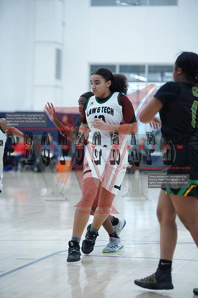 Brooklyn Law & Tech (NY) Girls Varsity Basketball 12-13-19 | She Got Game
