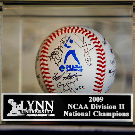 Lynn University's 2009 Baseball National Championship Celebration. September 25, 2009
