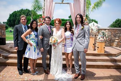 Monroe Wedding - Families