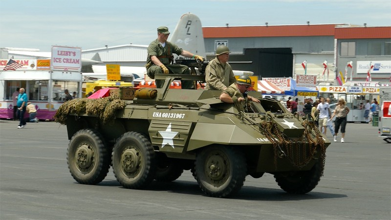 WW2 Weekend - Re-enactors, Vehicles & Statics