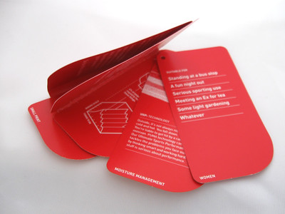 booklet tags | call outs