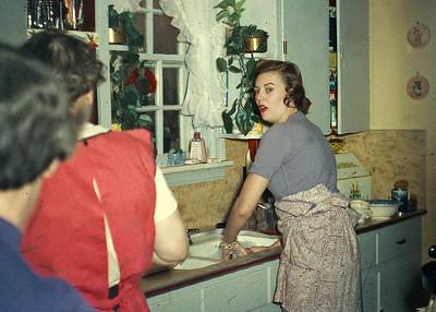 Harold and Kathryn Xmas 1955