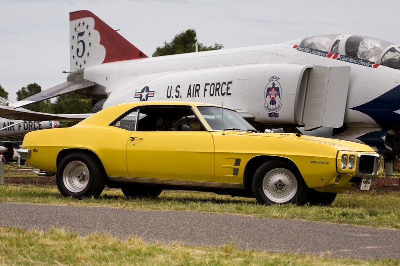 The Firebird at the Castle Air Museum, April 22, 2017.