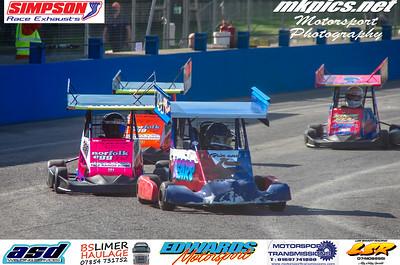 Ninja Karts, Aldershot, 13 September 2020