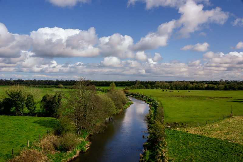 River Boyne, from the Boyne Aqueduct near Longwood