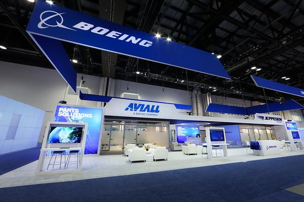 NBAA Boeing Booth