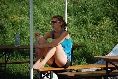 Aktive Volleyballer 2on2 Mixed Turnier des TV Wiesbach