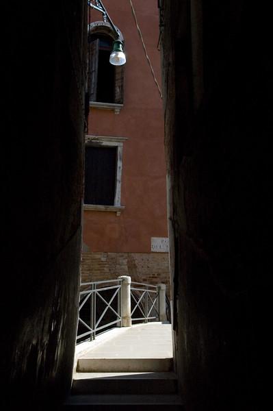 Alley and bridge, Venice, Italy