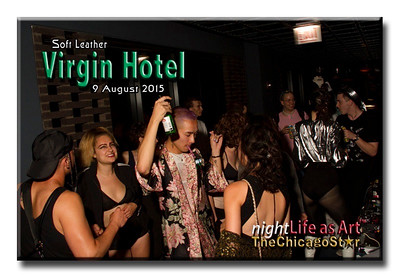 9 August 2015 Soft Leather at The Virgin Hotel