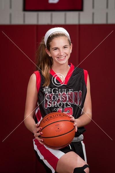 2010-12-08 Basketball Girls SJS JV Portraits