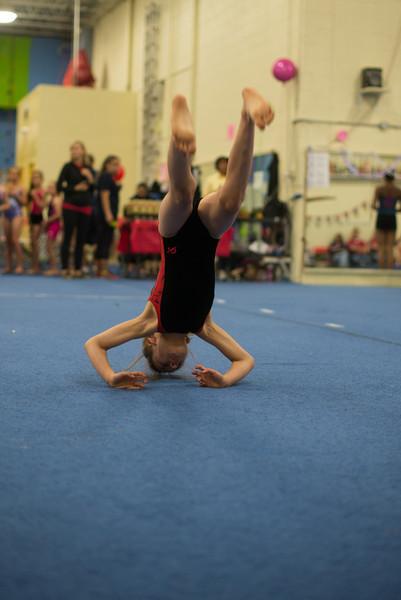 Lucia's Gymnastics Comp, 2014