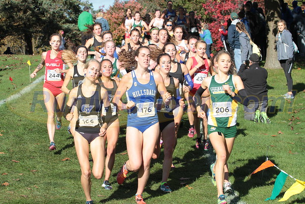2016 GLIAC Cross Country Championship - October 22