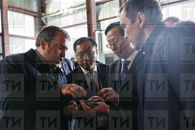 05.07.2017 - Делегация из Китая посетила Казанский маслоэкстракционный завод - Тухбатов